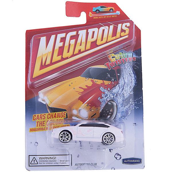 Машинка Autotime, Color Twisters Water Chameleon, металлическая, белыйМашинки<br>Характеристики:<br><br>• возраст: от 3 лет;<br>• цвет игрушки: белый;<br>• особенности: машинка меняет цвет в воде;<br>• материал: пластик, металл;<br>• размер: 12,7х17,8х4 см;<br>• тип упаковки: блистер на картоне;<br>• бренд, страна бренда: Autotime, США;<br>• страна производитель: Китай.<br><br>Машинка от бренда Autotime «Color Twisters Water Chameleon» - это красивая игрушечная модель спортивной машины, которая входит в серию товаров под названием Color Twisters. <br><br>Интересной особенностью данного автомобиля является возможность менять цвет. Если опустить машинку в горячую воду, то расцветка изменится, а если затем опустить в холодную, то цвет станет прежним. Машина изготовлена из литого металла и пластмассы.<br><br>Машинка сделана из безопасных материалов. Так же красители, которыми окрашены все части автомобиля являются гипоаллергенными и не навредят здоровью ребенка. Игрушка прошла все необходимые проверки и получила все сертификаты качества.<br><br>Color Twisters Water Chameleon действительно уникальная игрушка которая подарит вашему ребенку много радости и приятное времяпрепровождение за игрой. Отличный вариант для пополнения коллекции игрушечных машинок вашего ребенка.<br><br>Машинку от бренда Autotime «Color Twisters Water Chameleon», цвет - белый, можно купить в нашем интернет-магазине.<br><br>Ширина мм: 127<br>Глубина мм: 178<br>Высота мм: 39<br>Вес г: 63<br>Возраст от месяцев: 36<br>Возраст до месяцев: 2147483647<br>Пол: Мужской<br>Возраст: Детский<br>SKU: 7431655