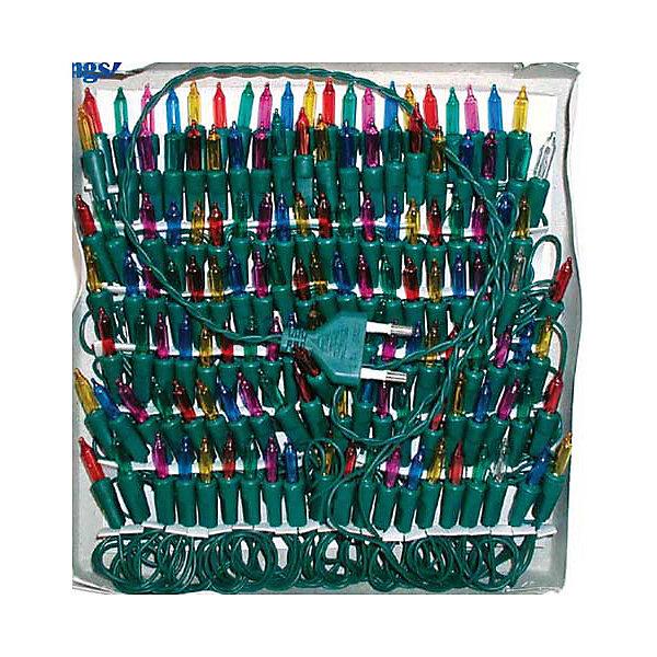 Гирлянда электрическая Winter WingsНовогодние электрогирлянды<br>Гирлянда электрическая, 20 ламп, прозрачная, цветная, 1,1 + 1,5 м<br>Ширина мм: 300; Глубина мм: 300; Высота мм: 200; Вес г: 77; Возраст от месяцев: 36; Возраст до месяцев: 2147483647; Пол: Унисекс; Возраст: Детский; SKU: 7434015;