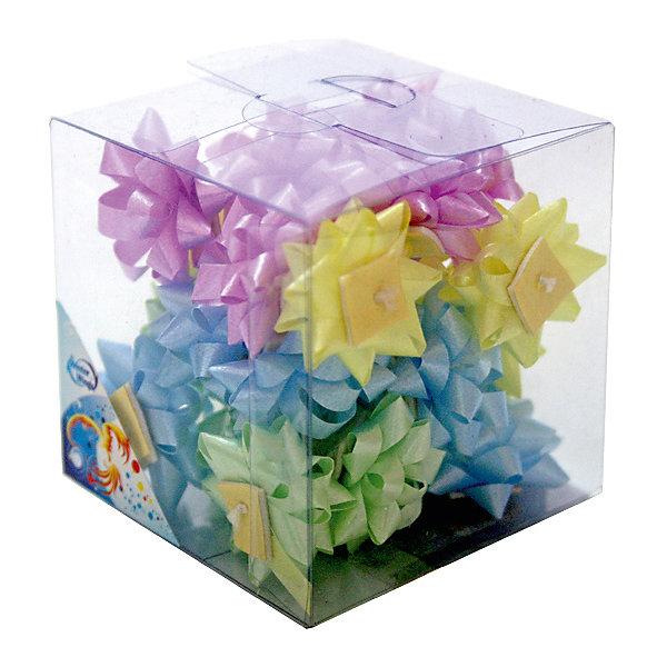 Набор бантиков для подарочной упаковкиПодарочные ленты<br>Набор бантиков для подарочной упаковки, 24 шт.х2,5 см, ПВХ<br><br>Ширина мм: 100<br>Глубина мм: 100<br>Высота мм: 100<br>Вес г: 15<br>Возраст от месяцев: 36<br>Возраст до месяцев: 2147483647<br>Пол: Унисекс<br>Возраст: Детский<br>SKU: 7434031