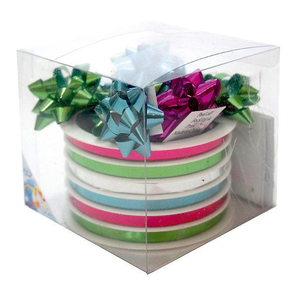 Набор для подарочной упаковкиПодарочные ленты<br>Набор для подарочной упаковки:бантики 16 шт.х 4 см,лента 6 шт.х5 ммх20 м, картонные подарочные бирки<br><br>Ширина мм: 100<br>Глубина мм: 100<br>Высота мм: 100<br>Вес г: 78<br>Возраст от месяцев: 36<br>Возраст до месяцев: 2147483647<br>Пол: Унисекс<br>Возраст: Детский<br>SKU: 7434037