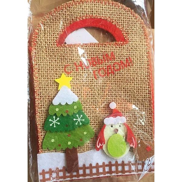 Сумочка подарочная ПИНГВИН Winter WingsУпаковка новогоднего подарка<br>Сумочка подарочная ПИНГВИН, 12*7*18,5 см, полиэстер<br>Ширина мм: 120; Глубина мм: 70; Высота мм: 185; Вес г: 58; Возраст от месяцев: 36; Возраст до месяцев: 2147483647; Пол: Унисекс; Возраст: Детский; SKU: 7434094;