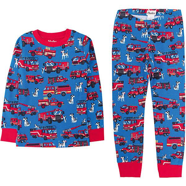 Пижама Hatley для мальчикаПижамы и сорочки<br>Характеристики товара:<br><br>• цвет: голубой<br>• комплектация: лонгслив, брюки<br>• состав ткани: 100% хлопок<br>• сезон: круглый год<br>• пояс: резинка<br>• длинные рукава<br>• страна бренда: Канада<br>• страна изготовитель: Индия<br><br>Такая хлопковая детская пижама легко надевается благодаря эластичному материалу. Брюки от пижамы для ребенка не давят на живот - в них мягкая резинка. Детская пижама создает комфортные условия и удобно сидит по фигуре. Товары для детей от бренда Hatley из Канады завоевали любовь потребителей благодаря высокому качеству и стильному дизайну. <br><br>Пижаму Hatley (Хатли) для мальчика можно купить в нашем интернет-магазине.<br>Ширина мм: 281; Глубина мм: 70; Высота мм: 188; Вес г: 295; Цвет: голубой; Возраст от месяцев: 18; Возраст до месяцев: 24; Пол: Мужской; Возраст: Детский; Размер: 92,122,98,104,110,116; SKU: 7434659;