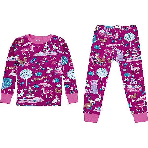 Пижама Hatley для девочкиПижамы и сорочки<br>Характеристики товара:<br><br>• цвет: бордовый<br>• комплектация: лонгслив, брюки<br>• состав ткани: 100% хлопок<br>• сезон: круглый год<br>• пояс: резинка<br>• длинные рукава<br>• страна бренда: Канада<br>• страна изготовитель: Индия<br><br>Товары для детей от бренда Hatley из Канады завоевали любовь потребителей благодаря высокому качеству и стильному дизайну. Такая хлопковая детская пижама легко надевается благодаря эластичному материалу. Брюки от пижамы для ребенка не давят на живот - в них мягкая резинка. Детская пижама создает комфортные условия и удобно сидит по фигуре. <br><br>Пижаму Hatley (Хатли) для девочки можно купить в нашем интернет-магазине.<br>Ширина мм: 281; Глубина мм: 70; Высота мм: 188; Вес г: 295; Цвет: бордовый; Возраст от месяцев: 18; Возраст до месяцев: 24; Пол: Женский; Возраст: Детский; Размер: 92,122,116,110,104,98; SKU: 7434681;