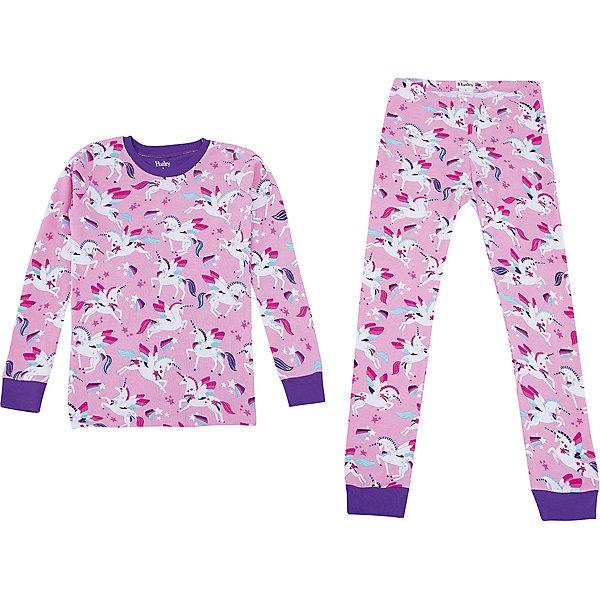 Пижама Hatley для девочкиПижамы и сорочки<br>Характеристики товара:<br><br>• цвет: бордовый<br>• комплектация: лонгслив, брюки<br>• состав ткани: 100% хлопок<br>• сезон: круглый год<br>• пояс: резинка<br>• длинные рукава<br>• страна бренда: Канада<br>• страна изготовитель: Индия<br><br>Товары для детей от бренда Hatley из Канады завоевали любовь потребителей благодаря высокому качеству и стильному дизайну. Яркая хлопковая детская пижама легко надевается благодаря эластичному материалу. Брюки от пижамы для ребенка не давят на живот - в них мягкая резинка. Детская пижама создает комфортные условия и удобно сидит по фигуре. <br><br>Пижаму Hatley (Хатли) для девочки можно купить в нашем интернет-магазине.<br>Ширина мм: 281; Глубина мм: 70; Высота мм: 188; Вес г: 295; Цвет: розовый; Возраст от месяцев: 18; Возраст до месяцев: 24; Пол: Женский; Возраст: Детский; Размер: 92,128,122,116,110,104,98; SKU: 7434701;