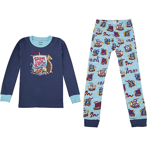 Пижама Hatley для мальчикаПижамы и сорочки<br>Характеристики товара:<br><br>• цвет: серый<br>• комплектация: лонгслив, брюки<br>• состав ткани: 100% хлопок<br>• сезон: круглый год<br>• пояс: резинка<br>• длинные рукава<br>• страна бренда: Канада<br>• страна изготовитель: Индия<br><br>Хлопковая детская пижама обеспечит ребенку комфорт во время сна благодаря мягким манжетам. Пижама для ребенка сделана из мягкого и дышащего материала. Детская пижама комфортно сидит, не вызывает неудобств. Канадский бренд Hatley - это одежда со стильным дизайном и высоким качеством исполнения.<br><br>Пижаму Hatley (Хатли) для мальчика можно купить в нашем интернет-магазине.<br><br>Ширина мм: 281<br>Глубина мм: 70<br>Высота мм: 188<br>Вес г: 295<br>Цвет: серый<br>Возраст от месяцев: 24<br>Возраст до месяцев: 36<br>Пол: Мужской<br>Возраст: Детский<br>Размер: 98,128,122,116,110,104<br>SKU: 7434732