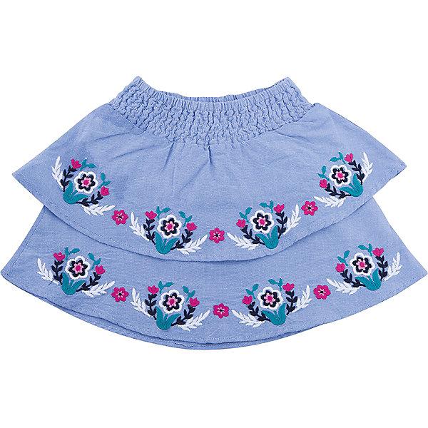 Юбка Hatley для девочкиЮбки<br>Характеристики товара:<br><br>• цвет: голубой<br>• состав ткани: 100% хлопок<br>• сезон: демисезон<br>• пояс: резинка<br>• страна бренда: Канада<br>• страна изготовитель: Индия<br><br>Эта юбка для ребенка украшена оригинальной вышивкой. Мягкий натуральный материал юбки для детей позволяет коже дышать. Хлопок, из которого сделана детская юбка, приятен на ощупь и гипоаллергенен. Качественная детская одежда от канадского бренда Hatley обеспечит ребенку комфорт.<br><br>Юбку Hatley (Хатли) для девочки можно купить в нашем интернет-магазине.<br>Ширина мм: 207; Глубина мм: 10; Высота мм: 189; Вес г: 183; Цвет: голубой; Возраст от месяцев: 24; Возраст до месяцев: 36; Пол: Женский; Возраст: Детский; Размер: 98,116,110,104; SKU: 7434758;