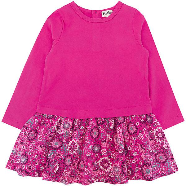 Платье Hatley для девочкиПлатья и сарафаны<br>Характеристики товара:<br><br>• цвет: розовый<br>• состав ткани: 100% хлопок<br>• сезон: демисезон<br>• застежка: пуговицы<br>• длинные рукава<br>• страна бренда: Канада<br>• страна изготовитель: Индия<br><br>Яркое детское платье поможет создать оригинальный наряд. Платье для ребенка сделано из мягкого и дышащего материала. Детское платье комфортно сидит, не вызывает неудобств. Канадский бренд Hatley - это одежда со стильным дизайном и высоким качеством исполнения.<br><br>Платье Hatley (Хатли) для девочки можно купить в нашем интернет-магазине.<br>Ширина мм: 236; Глубина мм: 16; Высота мм: 184; Вес г: 177; Цвет: розовый; Возраст от месяцев: 24; Возраст до месяцев: 36; Пол: Женский; Возраст: Детский; Размер: 98,122,116,110,104; SKU: 7434789;