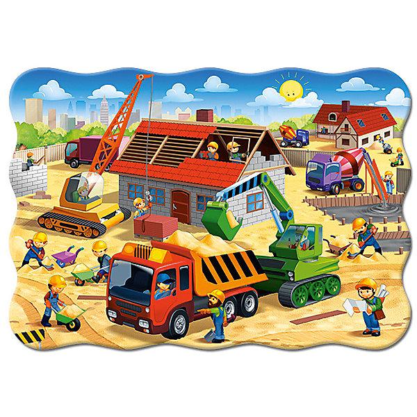 Пазл Строительство дома, 30 деталей (MIDI)Castor landПазлы для малышей<br>Изображение:Строительство дома. Кол-во деталей 30.<br>Ширина мм: 180; Глубина мм: 130; Высота мм: 40; Вес г: 150; Возраст от месяцев: 36; Возраст до месяцев: 2147483647; Пол: Унисекс; Возраст: Детский; SKU: 7435256;