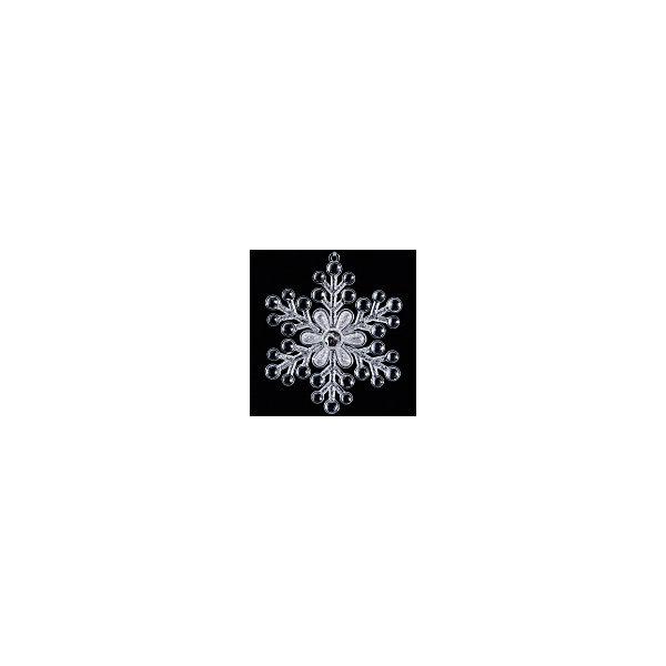 Украшение Снежинка из пузырьков 12,5 смЁлочные игрушки<br>Характеристики:<br><br>• количество: 1 шт.;<br>• материал: пластик;<br>• вес: 53 гр.;<br>• размер: 12,5х12,5х0,5 см;<br>• страна бренда: Россия.<br><br>«Снежинка из пузырьков» Erich Krause — чудесное и необычное украшение к празднику. Кажется, будто белая с прозрачными пузырьками снежинка сделана изо льда самой природой. В центре сияет круглый кристалл. Когда свет попадает на украшение, оно красиво переливается и отражает его.<br><br>Украшение «Снежинка из пузырьков» 12,5 см можно купить в нашем интернет-магазине.<br><br>Ширина мм: 125<br>Глубина мм: 125<br>Высота мм: 5<br>Вес г: 53<br>Возраст от месяцев: 84<br>Возраст до месяцев: 2147483647<br>Пол: Унисекс<br>Возраст: Детский<br>SKU: 7435920