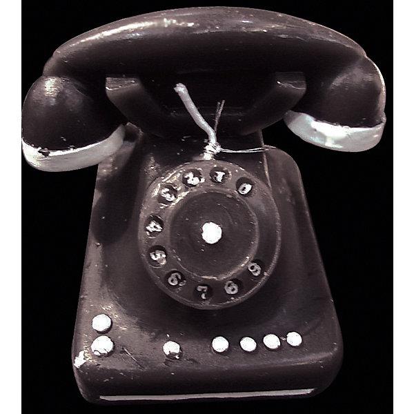 Свеча Телефон 7*7,5 смНовогодние свечи и подсвечники<br>Характеристики:<br><br>• количество: 1 шт.;<br>• материал: парафин;<br>• вес: 176 гр.;<br>• размер: 5х7х7,5 см;<br>• страна бренда: Россия.<br><br>Свеча Erich Krause оригинально украсит собой интерьер. Свеча сделана в виде старого телефона черного цвета с фитилем на цифровом диске. Декор выполнен из первосортного парафина, долго горит.<br><br>Свечу «Телефон» 7х7,5 см можно купить в нашем интернет-магазине.<br>Ширина мм: 50; Глубина мм: 70; Высота мм: 75; Вес г: 176; Возраст от месяцев: 84; Возраст до месяцев: 2147483647; Пол: Унисекс; Возраст: Детский; SKU: 7435952;