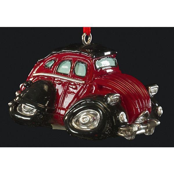 Украшение Ретрокар 5,5 смЁлочные игрушки<br>Характеристики:<br><br>• количество: 1 шт.;<br>• вес: 51 гр.;<br>• размер: 5,5х4х3 см;<br>• страна бренда: Россия.<br><br>«Ретрокар» Erich Krause — оригинальное подвесное украшение в виде старого красного автомобиля. Фигурка покрыта насыщенными стойкими красками, имеется петелька для шнурка. Сувенир можно подвесить в машине или поставить на рабочем столе.<br><br>Украшение «Ретрокар» 5,5 см можно купить в нашем интернет-магазине.<br>Ширина мм: 55; Глубина мм: 40; Высота мм: 30; Вес г: 51; Возраст от месяцев: 84; Возраст до месяцев: 2147483647; Пол: Мужской; Возраст: Детский; SKU: 7435955;