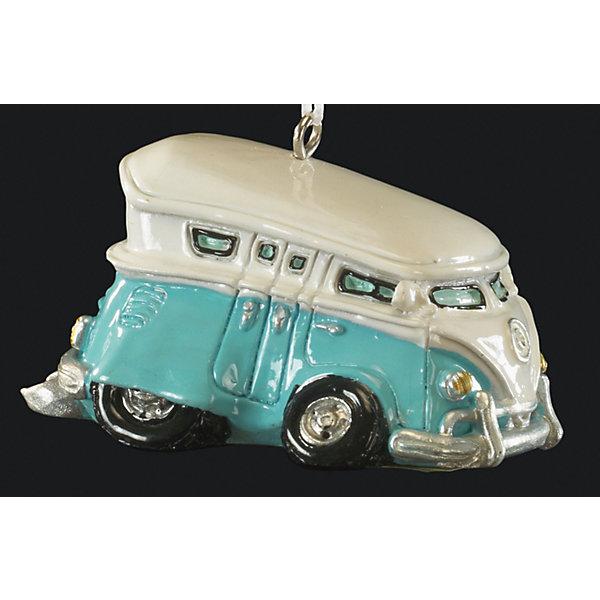 Украшение Ретроавтобус 6,5 смЁлочные игрушки<br>Характеристики:<br><br>• количество: 1 шт.;<br>• вес: 51 гр.;<br>• размер: 6,5х4х3 см;<br>• страна бренда: Россия.<br><br>«Ретроавтобус» Erich Krause — оригинальное подвесное украшение в виде винтажного микроавтобуса бирюзового цвета. Фигурка покрыта насыщенными стойкими красками, имеется петелька для шнурка. Сувенир можно подвесить в машине или поставить на рабочем столе.<br><br>Украшение «Ретроавтобус» 6,5 см можно купить в нашем интернет-магазине.<br>Ширина мм: 65; Глубина мм: 40; Высота мм: 30; Вес г: 51; Возраст от месяцев: 84; Возраст до месяцев: 2147483647; Пол: Мужской; Возраст: Детский; SKU: 7435956;