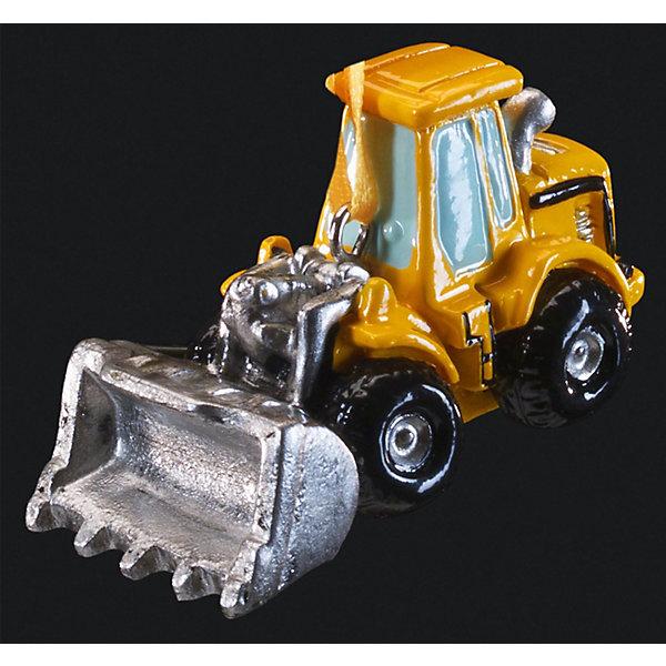 Украшение Трактор 5,5 смЁлочные игрушки<br>Характеристики:<br><br>• количество: 1 шт.;<br>• вес: 44 гр.;<br>• размер: 5,5х4х3 см;<br>• страна бренда: Россия.<br><br>«Трактор» Erich Krause — оригинальное подвесное украшение в виде желтого трактора с серебристым ковшом. Фигурка покрыта насыщенными стойкими красками, имеется петелька для шнурка. Сувенир можно подвесить в машине или поставить на рабочем столе.<br><br>Украшение «Трактор» 5,5 см можно купить в нашем интернет-магазине.<br><br>Ширина мм: 55<br>Глубина мм: 40<br>Высота мм: 30<br>Вес г: 44<br>Возраст от месяцев: 84<br>Возраст до месяцев: 2147483647<br>Пол: Мужской<br>Возраст: Детский<br>SKU: 7435958