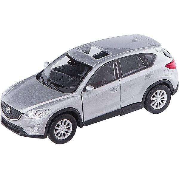 Коллекционная машинка Welly Mazda CX-5, 1:34-39Машинки<br>Характеристики товара:<br><br>• возраст: от 4 лет;<br>• масштаб: 1:34-39;<br>• материал: металл;<br>• размер упаковки: 15х6х12 см.<br><br>Автомобиль Mazda CX-5 от бренда Welly - прекрасный подарок для любителей коллекционных машин. Игрушка изготовлена из качественных материалов, поэтому она прослужит очень долго. Модель тщательно детализирована, чтобы у автолюбителя не осталось сомнений, что перед ним настоящая копия кроссовера в масштабе 1:34-39. Колеса машинки крутятся, передние двери можно открывать. Игрушка выполнена из качественных материалов, без содержания вредных компонентов.<br><br>Модель машины Welly (Велли), Mazda CX-5, 1:34-39 можно купить в нашем интернет-магазине.<br>Ширина мм: 150; Глубина мм: 60; Высота мм: 110; Вес г: 156; Возраст от месяцев: 36; Возраст до месяцев: 2147483647; Пол: Мужской; Возраст: Детский; SKU: 7436066;