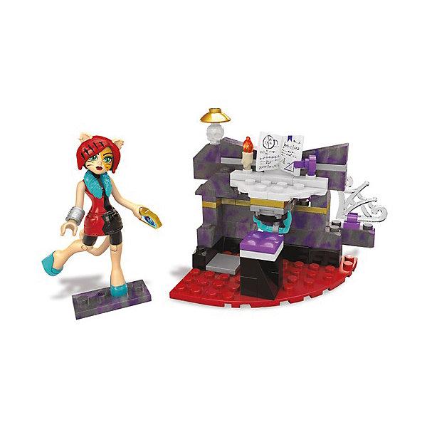 Купить Конструктор Mega Bloks Monster High Студия диджея, 84 детали, Mattel, Китай, Женский