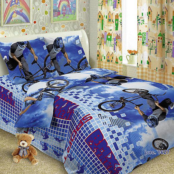 Детское постельное белье 1,5 сп Letto BMX, нав-ка 50х70Детское постельное бельё<br>Характеристики:<br><br>• возраст: 3+;<br>• тип: детское постельное белье;<br>• материал: 100% хлопок (бязь);<br>• цвет: синий;<br>• пол: для мальчиков;<br>• комплект: 3 предмета;<br>• пододельяник: 147х210 см – 1 шт.;<br>• простынь: 150х210 см – 1 шт.;<br>• наволочка: 50х70 см - 1 шт.<br><br>Ширина мм: 300<br>Глубина мм: 370<br>Высота мм: 50<br>Вес г: 1500<br>Цвет: синий<br>Возраст от месяцев: 36<br>Возраст до месяцев: 2147483647<br>Пол: Унисекс<br>Возраст: Детский<br>SKU: 7441574