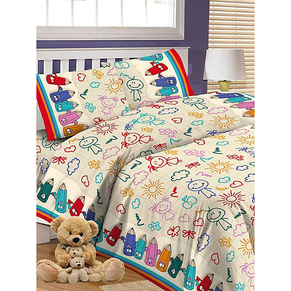 Детское постельное белье 1,5 сп Letto Карандаши, бежевыйДетское постельное бельё<br>Характеристики:<br><br>• возраст: 3+;<br>• тип: детское постельное белье;<br>• материал: 100% хлопок (бязь);<br>• цвет: бежевый;<br>• пол: для мальчиков, для девочек;<br>• комплект: 3 предмета;<br>• пододельяник: 147х210 см – 1 шт.;<br>• простынь: 150х210 см – 1 шт.;<br>• наволочка: 5<br><br>Ширина мм: 300<br>Глубина мм: 370<br>Высота мм: 50<br>Вес г: 1500<br>Цвет: бежевый<br>Возраст от месяцев: 36<br>Возраст до месяцев: 2147483647<br>Пол: Унисекс<br>Возраст: Детский<br>SKU: 7441638