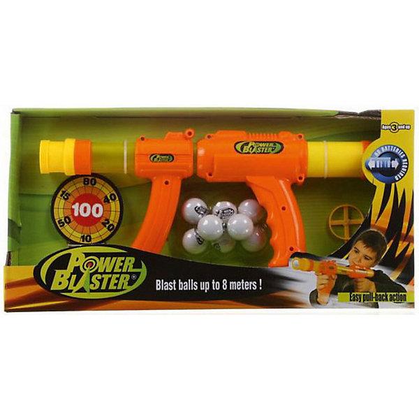 Бластер Toy Target Power BlasterИгрушечные пистолеты и бластеры<br>Характеристики:<br><br>• вес: 83г.;<br>• упаковка: коробка;<br>• размер упаковки: 43х8х32см.;<br>• материал: пластик.;<br>• для детей в возрасте: от 3лет.;<br>• страна производитель: Китай.<br><br>Игрушечное оружие «Power Blaster» (Пауэр Бластер) бренда «Toy Target» (Той Таргет) станет отличным приобретением для маленьких мальчишек. Он создан из высококачественных, экологически чистых материалов, что очень важно для детских товаров.<br><br>Такое оружие не оставит равнодушным ни одного мальчишку. Бластер поражает цели на расстоянии восьми метров и работает с помощью ручной помпы. Отсутствие батареек позволит брать с собой оружие на летний отдых. Комплект состоит из восьми пенопластовых шариков и шести мишеней в форме банок.<br><br> Играя дети развивают глазомер, устраивают соревнования и  турниры по стрельбе и просто весело проводят время. <br>                                    <br>Игрушечное оружие «Power Blaster» (Пауэр Бластер) можно купить в нашем интернет-магазине.<br>Ширина мм: 430; Глубина мм: 80; Высота мм: 320; Вес г: 830; Цвет: оранжевый; Возраст от месяцев: 36; Возраст до месяцев: 2147483647; Пол: Мужской; Возраст: Детский; SKU: 7449542;