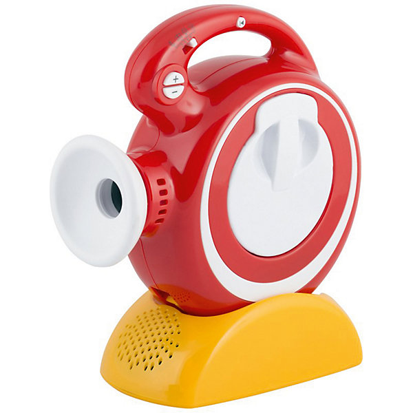 Мини-диапроектор Светлячок (свет, звук)Детские гаджеты<br>Характеристики товара:<br><br>• возраст: с рождения;<br>• материал: пластик;<br>• в комплекте: диапроектор;<br>• тип батареек: 7 батареек АА;<br>• наличие батареек: в комплект не входят;<br>• размер упаковки: 24х19х9 см;<br>• вес упаковки: 700 гр.;<br>• страна производитель: Китай<br>Диапроектор мини Светлячок обеспечит увлекательное времяпрепровождение за просмотром мультфильмов или сказок. Нужно лишь вставить в него картридж со сказкой и воспроизвести ее на стену или потолок, и можно наблюдать за любимыми персонажами.<br>Диапроектор может работать в автоматическом режиме: он воспроизводит самостоятельно слайд за слайдом, а по окончании отключается. Проектор оснащен удобной подставкой и ручкой для переноски. К диапроектору подходят все картриджи фирмы «Светлячок».<br>Диапроектор мини Светлячок можно приобрести в нашем интернет-магазине.<br>Ширина мм: 190; Глубина мм: 90; Высота мм: 240; Вес г: 700; Возраст от месяцев: -2147483648; Возраст до месяцев: 2147483647; Пол: Мужской; Возраст: Детский; SKU: 7449552;