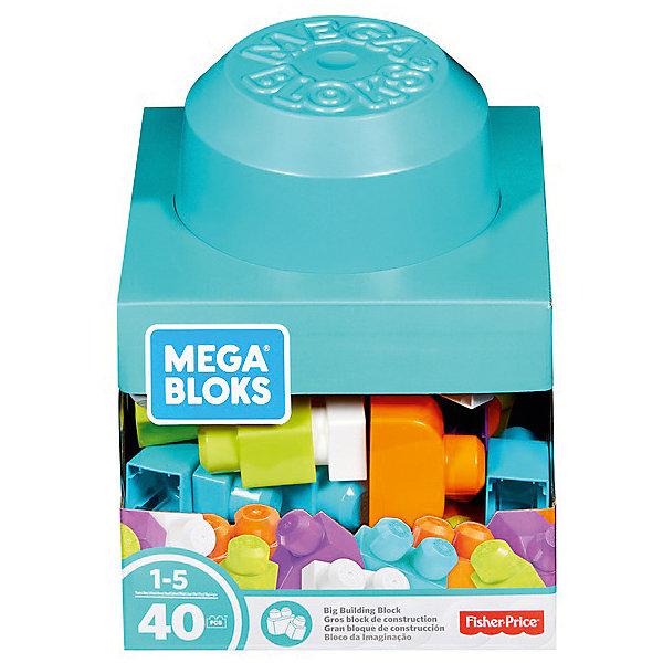 Констркутор Mеga Bloks Блоки для развития воображенияКонструкторы для малышей<br>Характеристики:<br><br>• возраст: от 1 года;<br>• материал: пластик;<br>• количество деталей: 40;<br>• вес упаковки: 675 гр.;<br>• размер упаковки: 25х21х21 см;<br>• страна бренда: США.<br><br>Базовый конструктор Fisher Price Mega Bloks содержит цветные яркие детали крупного размера. Ребенок сможет собирать всевозможные фигуры, тренируя мелкую моторику, цветовое восприятие, развивая воображение.<br><br>Детали легко соединяются между собой. При необходимости их можно легко разъединить. Элементы конструктора хранятся в коробке в виде огромного кирпичика Mega Bloks. Сделано из качественных безопасных материалов.<br><br>Базовый набор-конструктор Mеga Bloks можно купить в нашем интернет-магазине.<br>Ширина мм: 224; Глубина мм: 225; Высота мм: 253; Вес г: 693; Возраст от месяцев: 12; Возраст до месяцев: 60; Пол: Унисекс; Возраст: Детский; SKU: 7449649;