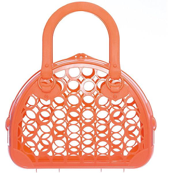 Сумка-корзинка Нордпласт (оранжевая)Детский супермаркет<br>Характеристики товара:<br><br>• цвет: оранжевый;<br>• возраст: от 3 лет;<br>• материал: высококачественная пластмасса;<br>• размер упаковки: 25х9,5х28 см;<br>• вес: 150 гр.;<br>• cтрана обладатель бренда: Россия..<br><br>Сумка-корзинка — очень полезная вещь. В нее можно складывать игрушки для песочницы и различные детские аксессуары. Ее очень удобно брать в поездку и на прогулку. У сумки-корзинки негнущиеся ручки, ее легко открыть и закрыть. Сумочка сделана из высококачественной пластмассы, не имеющей неприятных запахов, что обеспечивает дополнительную безопасность при их использовании детьми младших возрастов.<br><br>Сумку-корзинку, Нордпласт можно купить в нашем интернет-магазине.<br>Ширина мм: 250; Глубина мм: 95; Высота мм: 280; Вес г: 150; Возраст от месяцев: 36; Возраст до месяцев: 2147483647; Пол: Унисекс; Возраст: Детский; SKU: 7450146;