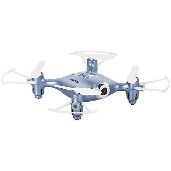 Квадрокоптер с WiFi камерой  SYMA X21W голубойКвадрокоптеры<br>Характеристики:  <br>Габариты квадрокоптера, мм: 136 x 31 x 136 <br>Управление: 2.4G пульт, телефон iOS,OS Android.<br>Камера: HD  <br>Гироскоп: Шестиосевой <br>Аккумулятора: Li-Poly аккумулятор 3.7 В (380 мАч)<br>Полетное время 7-8 минут <br>Страна производства: Китай <br>   <br>Комплектация:  <br>Квадрокоптер  <br>Пульт управления  <br>Зарядное устройство USB <br>Лопасти   <br>Li-Poly аккумулятор  <br>Держатель для мобильного телефона<br>Инструкция  <br>   <br>Квадрокоптер радиоуправляемый Syma X21W – Это модель новой формации, которая подарит своему обладателю еще больше возможностей для эффектного пилотирования и видеосъемки.<br>Автоматический взлет и посадка сделали эту модель незаменимой для новичков и детей.<br>Эргономичная форма с широким и плоским корпусом, а также Х-образной рамой обеспечивает модели необходимую устойчивость. Функция удержания высоты и 6-осевой гироскоп позволяет снимать  качественное видео. Камера позволит «пилоту» транслировать видео через Wi-Fi на экран телефона при помощи специального приложения для мобильных устройств. <br>Светодиоды  сделают увлекательными полеты в темное время суток.  Экстремальные  пользователи обрадуются возможности выполнять эффектные бекфлипы на 360 градусов.<br>Ширина мм: 320; Глубина мм: 200; Высота мм: 80; Вес г: 440; Возраст от месяцев: 96; Возраст до месяцев: 2147483647; Пол: Унисекс; Возраст: Детский; SKU: 7451136;