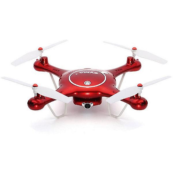 Квадрокоптер с WiFi камерой Syma X5UWКвадрокоптеры<br>Характеристики:<br>Размеры квадрокоптера: 320 х 320 х 70 мм<br>Тип двигателя: коллекторный<br>Функции: 3D флипы, автоматический возврат, камера 1 МП, Аварийная посадка, FPV, Headless режим, Автоматический возврат, Автоматические посадка и взлёт, Wi-Fi соединения<br>Встроенный гироскоп: 6-осевой<br>Барометр: Есть<br>Пульт управления: 4 канала, 2.4G<br>FPV дальность: 30 - 40 м<br>аккумулятор: Li-Po 3.7V 500mAh<br>время полета: 7-8 минут<br>камера: 1MP<br>Страна производства: Китай<br> <br>Комплект:<br>квадрокоптер Syma X5UW<br>USB кабель<br>два CW пропеллера<br>два CWW пропеллера<br>держатель телефона<br>аккумулятор 3.7V 500mAh<br>отвертка<br>передатчик<br>Card Reader<br>камера (с картой памяти 4G TF)<br>руководство пользователя<br> <br>Квадрокоптер радиоуправляемый Syma X5UW – Это модель оснащенная классическими коллекторными моторами с приводом через шестерню, а его немалые несущие винты значительно увеличивают тягу, добавляя маневренности квадрокоптеру. Простота управления придется по душе любому пользователю. Автоматический взлет и посадка, ветроустойчивость, возврат в точку взлета при помощи специальной функции. Вы сможете взять с собой квадрокоптер в любое место и запечатлеть свой полет на видео и в эффектных снимках. Wi-Fi трансляция на экран телефона позволяет видеть запись видео в режиме онлайн при помощи специального приложения для мобильных устройств. Невероятно прочная модель, подходит как для полетов в помещении, так и на улице.<br>Ширина мм: 420; Глубина мм: 230; Высота мм: 10; Вес г: 680; Возраст от месяцев: 144; Возраст до месяцев: 2147483647; Пол: Унисекс; Возраст: Детский; SKU: 7451137;