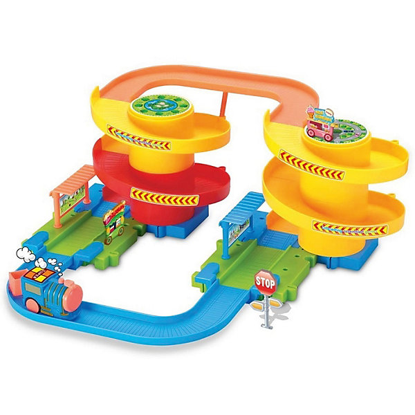 Железная дорога Devik Toys с поездомЖелезные дороги<br>Характеристики товара:<br><br>• возраст: от 3 лет;<br>• размер: 32х35х19 см;<br>• материал: пластик;<br>• размер упаковки: 10х40х30 см;<br>• страна производитель: Китай.<br><br>Железнодорожный набор от Devik Toys подарит много радости ребенку. Набор представляет собой трехъярусную площадку, железную дорогу с остановками и фигурку паровозика. Юному железнодорожнику будет очень любопытно наблюдать, как маленький паровозик скатывается по крутым горкам, а затем поднимается и снова спешит на станцию к пассажирам. <br><br>Игрушка изготовлена из высококачественных материалов, безопасных для детей. Игра с данным набором способствует развитию фантазии, воображения, мелкой моторики. <br><br>Железнодорожный набор,  32*35*19см, поезд в комплекте, Devik Toys (Девик Тойс) можно купить в нашем интернет-магазине.<br><br>Ширина мм: 320<br>Глубина мм: 190<br>Высота мм: 350<br>Вес г: 1200<br>Возраст от месяцев: 36<br>Возраст до месяцев: 2147483647<br>Пол: Унисекс<br>Возраст: Детский<br>SKU: 7452442