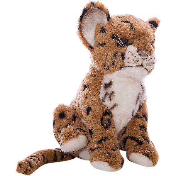 Мягкая игрушка Hansa Детеныш ягуара, 17 см (коричневый)Мягкие игрушки животные<br>Характеристики товара:<br><br>• возраст: от 3 лет;<br>• цвет: коричневый;<br>• высота игрушки:  17 см.;<br>• состав: искусственный мех, текстиль, металл, пластик, наполнитель;<br>• упаковка: картонная коробка;<br>• вес в упаковке: 170 гр.;<br>• бренд, страна: Hansa, Филлипины;<br>• страна-производитель: Филлипины.<br><br>Мягкая игрушка «Детеныш ягуара коричневый» от торговой марки Hansa из серии «Домашние и сельскохозяйственные животные» не только послужит ребенку отличной забавой, украсит интерьер дома, но и пополнит полку коллекционера. Она придает комнате атмосферу уюта и тепла. <br><br>Маленький ягуар очень милый и обладает красивым шелковистым окрасом, что позволит гладить его во время игры. Игрушка довольно компактная и выполнена из мягкого материала, благодаря чему ее удобно держать и тискать в ручках. Фигурка выглядит очень реалистично и полностью учитывает анатомические особенности настоящего животного, а также окрас. Она изготовлена в ручную из качественных, не аллергенных материалов и безопасна для здоровья ребенка.<br><br>Данная модель способствует развитию воображения и тактильной чувствительности у детей. С таким медвежонком будет интересно играть, придумывая свои интересные приключения и неповторимые истории. Это забавная мягкая игрушка станет прекрасным подарком для детей от 3 лет.<br><br>Мягкие игрушки Филлипинского бренда Hansa — это красивые декоративные товары, выполненный в ручную,  отличающиеся высоким качеством и разнообразием, среди которых можно будет подобрать зверюшку в подарок не только детям, но и взрослым.<br><br>Мягкую игрушку «Детеныш ягуара коричневый», сидячий, 17 см., Hansa можно купить в нашем интернет-магазине.<br>Ширина мм: 150; Глубина мм: 170; Высота мм: 110; Вес г: 90; Возраст от месяцев: 36; Возраст до месяцев: 2147483647; Пол: Унисекс; Возраст: Детский; SKU: 7453668;