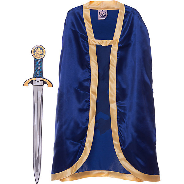 Набор Благородный рыцарь (Синий), Lion Touch, (Меч, Плащ)Карнавальные костюмы для мальчиков<br>Характеристики товара:<br><br>• возраст: от 3 лет;<br>• материал: текстиль, EVA;<br>• в комплекте: плащ, меч;<br>• размер упаковки: 45х35х10 см;<br>• вес упаковки: 400 гр.;<br>• страна производитель: Китай.<br><br>Игровой набор «Благородный рыцарь» Lion Touch синий позволит мальчишкам почувствовать себя настоящими рыцарями и устроить с друзьями захватывающие поединки. Набор подойдет не только для праздников или карнавала, но и для обычных игр дома с друзьями. Меч выполнен из безопасных материалов и не нанесет травм во время игры.<br><br>Игровой набор «Благородный рыцарь» Lion Touch синий можно приобрести в нашем интернет-магазине.<br>Ширина мм: 450; Глубина мм: 350; Высота мм: 100; Вес г: 400; Возраст от месяцев: 36; Возраст до месяцев: 2147483647; Пол: Мужской; Возраст: Детский; SKU: 7454171;