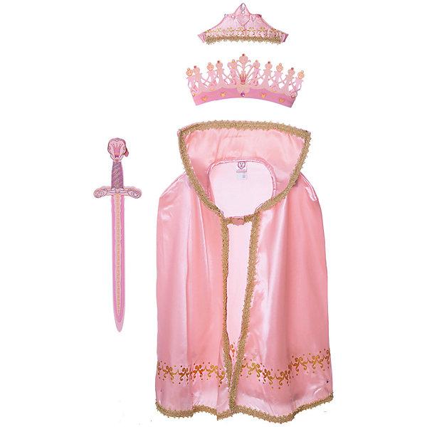 Набор Королева Роза, Lion Touch (Корона, Меч, Тиара, Плащ)Карнавальные костюмы для девочек<br>Характеристики товара:<br><br>• возраст: от 3 лет;<br>• материал: EVA, текстиль;<br>• в комплекте: корона, меч, тиара, плащ;<br>• размер упаковки: 45х35х10 см;<br>• вес упаковки: 400 гр.;<br>• страна производитель: Китай.<br><br>Игровой набор «Королева Роза» Lion Touch позволит девочкам почувствовать себя отважными принцессами. Набор подойдет не только для праздников или карнавала, но и для обычных игр дома с друзьями. Оружие выполнено из безопасных материалов и не нанесет травм во время игры.<br><br>Игровой набор «Королева Роза» Lion Touch можно приобрести в нашем интернет-магазине.<br>Ширина мм: 450; Глубина мм: 350; Высота мм: 100; Вес г: 400; Возраст от месяцев: 36; Возраст до месяцев: 2147483647; Пол: Женский; Возраст: Детский; SKU: 7454195;