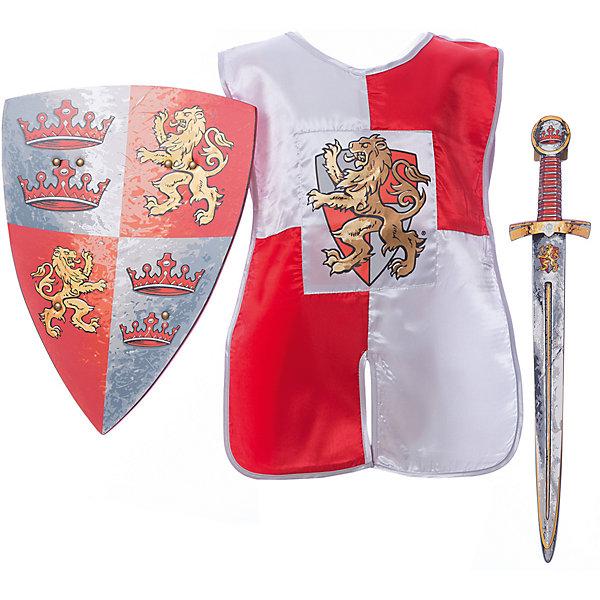 Набор Принц-Львиное Сердце, Lion Touch (Меч,Щит,Плащ)Карнавальные костюмы для мальчиков<br>Характеристики товара:<br><br>• возраст: от 3 лет;<br>• материал: текстиль, EVA;<br>• в комплекте: меч, щит, плащ;<br>• размер упаковки: 45х35х10 см;<br>• вес упаковки: 400 гр.;<br>• страна производитель: Китай.<br><br>Игровой набор «Принц Львиное сердце» Lion Touch позволит мальчишкам почувствовать себя настоящими рыцарями и устроить с друзьями захватывающие поединки. Набор подойдет не только для праздников или карнавала, но и для обычных игр дома с друзьями. Меч выполнен из безопасных материалов и не нанесет травм во время игры.<br><br>Игровой набор «Принц Львиное сердце» Lion Touch можно приобрести в нашем интернет-магазине.<br>Ширина мм: 450; Глубина мм: 350; Высота мм: 100; Вес г: 400; Возраст от месяцев: 36; Возраст до месяцев: 2147483647; Пол: Мужской; Возраст: Детский; SKU: 7454198;