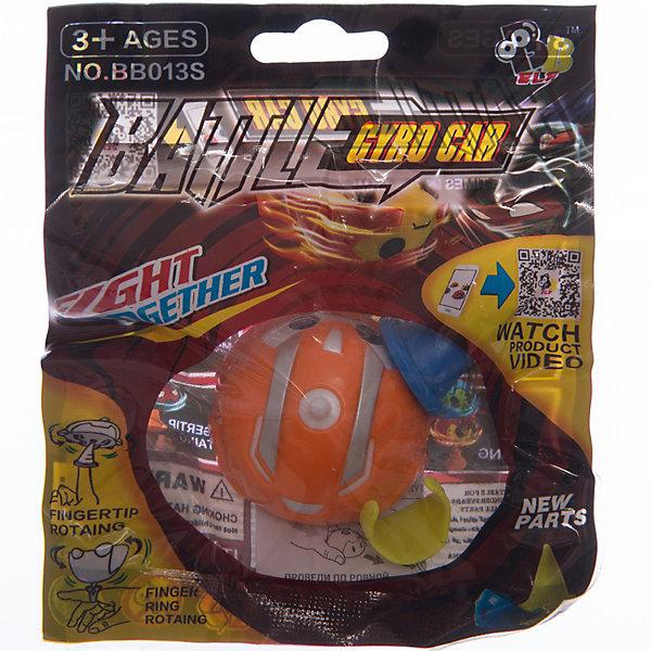 Машинка с гироскопом Gyro Flash Racer оранжевая, в пакете