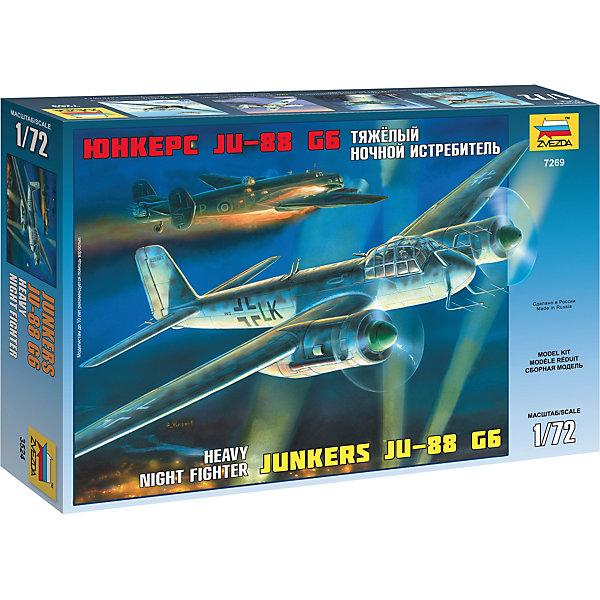 Сборная модель  Нем. Тяжёлый ночной истребитель Ju-88G6Военная техника и панорама<br>Сборная модель  Нем. Тяжёлый ночной истребитель Ju-88G6<br>Ширина мм: 242; Глубина мм: 345; Высота мм: 60; Вес г: 320; Возраст от месяцев: 84; Возраст до месяцев: 2147483647; Пол: Унисекс; Возраст: Детский; SKU: 7459791;