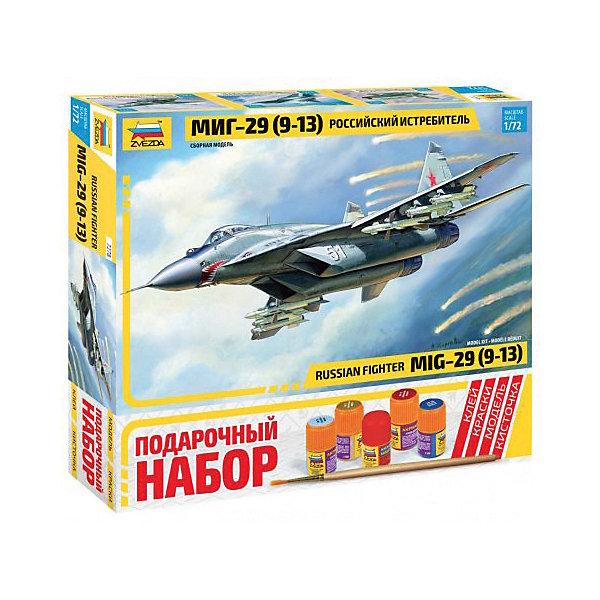 Сборная модель  Самолет МиГ-29 (9-13)Самолеты и вертолеты<br>Сборная модель  Самолет МиГ-29 (9-13)<br>Ширина мм: 348; Глубина мм: 315; Высота мм: 60; Вес г: 570; Возраст от месяцев: 84; Возраст до месяцев: 2147483647; Пол: Унисекс; Возраст: Детский; SKU: 7459811;