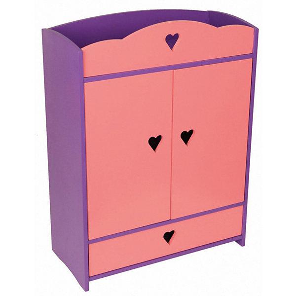 Мебель для куклы Краснокамская игрушка Шкафчик с выдвижным ящикомМебель для кукол<br>Характеристики товара:<br><br>• возраст: от 3 лет;<br>• из чего сделана игрушка (состав): дерево;<br>• тип игрушки: шкафчик с выдвижным ящиком;<br>• комплект: шкафчик, ящик, 4 вешалки;<br>• размер в собранном виде: 46x22x53 см.;<br>• размер упаковки: 47х64х8,5 см.;<br>• вес: 10,1 кг.;<br>• упаковка: картонная коробка;<br>• страна обладатель бренда: Россия.<br><br>Кукольная мебель «Шкафчик с выдвижным ящиком» от производителя «Краснокамская игрушка» изготовлена из натуральной отечественной древесины ели, сосны, березы и липы. <br><br>Шкафчик окрашен акриловой краской ярких цветов, которые очень понравятся девочке, и украшен вырезными сердечками по центру в верхней части и на месте ручек.<br><br>Внутри шкафчика есть полочки для белья и отделение с вешалками, а также ящик, который выдвигается. <br><br>Этот шкафчик дополнит игру девочки и украсит любой интерьер в детской комнаты.<br><br>Набор кукольной мебели «Шкафчик с выдвижным ящиком» можно купить в нашем интернет-магазине.<br><br>Ширина мм: 470<br>Глубина мм: 640<br>Высота мм: 85<br>Вес г: 10100<br>Возраст от месяцев: 36<br>Возраст до месяцев: 2147483647<br>Пол: Унисекс<br>Возраст: Детский<br>SKU: 7460706