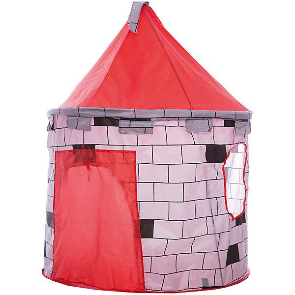 Игровая палатка Shantou Gepai Замок, в чехлеИгровые центры<br>Характеристики товара:<br><br>• возраст: от 3 лет;<br>• размер палатки: 100х100х130 см.;<br>• цвет: красный;<br>• состав: текстиль, пластик, металл;<br>• размер упаковки: 44х5х44 см.;<br>• вес в упаковке: 930 гр.;<br>• упаковка: текстильная сумка с ручками;<br>• бренд, страна: Shantou Gepai, Китай;<br>• страна-производитель: Китай.<br><br>Палатка игровая «Замок» от торговой марки Shantou - это красочная разноцветная палатка, которая может послужить прекрасным домиком для игр малыша.Палатка станет очень хорошим подарком. Препровождение в палатке научит ребенка адаптироваться в любой среде, научит быть самостоятельным и организованным.<br><br>У палатки коническая крыша с флагом на шпиле и основа в виде башни с отверстием для входа, который можно закрывать специальной шторкой на липучках. Благодаря ярким цветам, палатка выглядит очень уютной и милой. Игровой замок очень легко складывать и брать с собой на природу. <br><br>Палатка идеально подходит для сюжетно-ролевых игр на свежем воздухе или в помещении. В ней одновременно могут поместиться несколько малышей. Палатка сделана из водонепроницаемой ткани, он легко моется в случае необходимости. Очень проста в установке - сама разворачивается за счет каркаса-спирали, есть пол. Схема сборки в изначальное состояние прилагается.<br><br>Ассортимент товаров Shantou, сочетая превосходное качество, яркий и уникальный дизайн,  по праву получил признание миллионов покупателей во всем мире.<br><br>Палатку игровую «Замок», 100х100х130 см., Shantou можно купить в нашем интернет-магазине.<br>Ширина мм: 440; Глубина мм: 50; Высота мм: 440; Вес г: 930; Возраст от месяцев: 36; Возраст до месяцев: 2147483647; Пол: Унисекс; Возраст: Детский; SKU: 7460854;