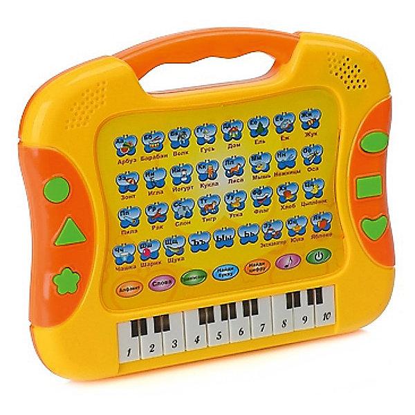 Развивающий планшет Altacto Музыкальная наукаДетские гаджеты<br>Характеристики товара:<br><br>• возраст: от 3 лет;<br>• материал: пластик;<br>• работает от батареек типа АА ( в комплект не входят);<br>• упаковка: картонная коробка;<br>• размер упаковки: 20х16,5х2,7 см;<br>• вес: 260 гр.;<br>• страна-производитель: Китай.<br><br>Играя с развивающим планшет «Музыкальная наука», ваш ребёнок сможет в игровой форме выучить алфавит и цифры, научиться произносить слова по буквам и выучит новые слова. Всего предусмотрено три режима: алфавит, слова и правописание.<br><br>Также он сможет послушать весёлые детские песенки в перерыве от обучения и поиграть в познавательные игры Найди букву и Найди цифру.<br><br>На планшете расположены квадратики с картинками, буквами, словами и цифрами.<br>Планшет поступает в продажу в яркой русифицированной упаковке, все надписи и озвучка также выполнены на русском языке.<br><br>Развивающий планшет «Музыкальная наука»  от Altacto, можно купить в нашем интернет-магазине.<br>Ширина мм: 202; Глубина мм: 165; Высота мм: 27; Вес г: 260; Возраст от месяцев: 36; Возраст до месяцев: 2147483647; Пол: Унисекс; Возраст: Детский; SKU: 7461027;