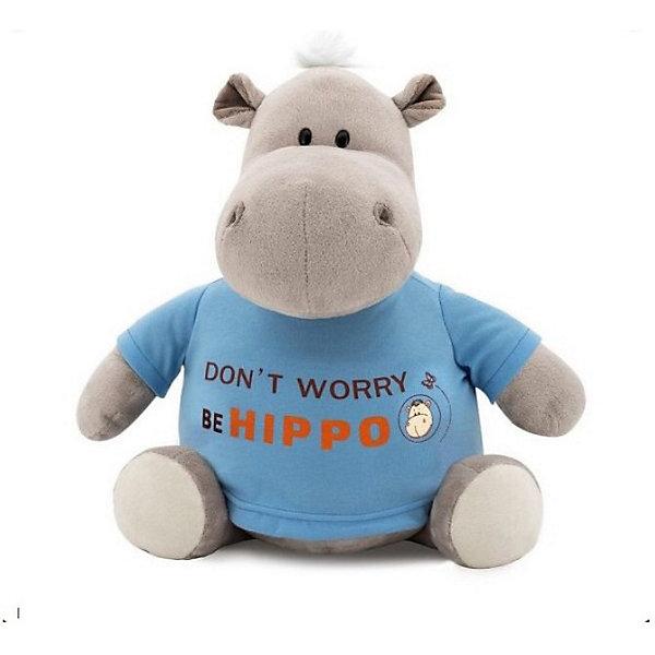 Мягкая игрушка Orange Бегемот Be Hippo, 20 смМягкие игрушки животные<br>Характеристики товара:<br><br>• возраст: от 3 лет;<br>• цвет: серый, голубой;<br>• высота игрушки: 20 см.;<br>• состав: плюш, текстиль, пластик, наполнитель;<br>• упаковка: картонная коробка открытого типа.;<br>• вес в упаковке: 175 гр.;<br>• бренд, страна: Orange, Россия;<br>• страна-производитель: Китай.<br><br>Мягкая игрушка «Бегемот BE HIPPO» от торговой марки Orange может привести в восторг многих детей. Послужит ребенку не только отличном подарком, но и украсит интерьер дома, придаст комнате атмосферу уюта и тепла. С таким бегемотом можно весело играть, спать и гулять.<br><br>Этот милый и забавный бегемотик одет в яркую голубую футболку с забавной надписью на ней. Игрушка выполнена из искусственного меха, приятного на ощупь; в качестве наполнителя использованы полиэфирное волокно и полиэтиленовые гранулы. Аккуратно простроченные швы надежно удерживают внутреннюю набивку. Материалы, использованные для изготовления игрушки, прошли контроль качества и безопасны для маленьких детей. <br><br>Все игрушки Российской компании Orange имеют свою яркую индивидуальность, но их, безусловно, объединяет отменное качество, стильный дизайн, привлекательные цены и любовь детей, которые уже познакомились с этими уникальными игрушками.<br><br>Мягкую игрушку «Бегемот BE HIPPO», сидячий, 20 см., Orange можно купить в нашем интернет-магазине.<br>Ширина мм: 120; Глубина мм: 80; Высота мм: 290; Вес г: 120; Возраст от месяцев: 36; Возраст до месяцев: 180; Пол: Унисекс; Возраст: Детский; SKU: 7462223;