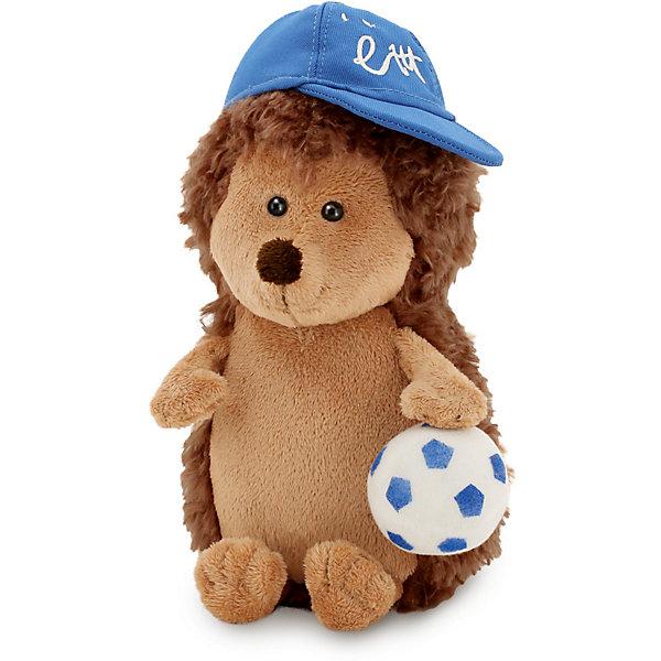 Мягкая игрушка Orange Енотик Дэйзи: Ёжик Колюнчик с мячиком, 20 смМягкие игрушки животные<br>Характеристики товара:<br><br>• возраст: от 3 лет;<br>• цвет: коричневый, голубой;<br>• высота игрушки: 20 см.;<br>• состав: искусственный мех, полиэтиленовые гранулы, текстиль, пластик;<br>• упаковка: картонная коробка открытого типа.;<br>• вес в упаковке: 130 гр.;<br>• бренд, страна: Orange, Россия;<br>• страна-производитель: Китай.<br><br>Мягкая игрушка «Ёжик Колюнчик с мячиком» из коллеции LIFE торговой марки Orange может привести в восторг многих детей. Послужит ребенку не только отличном подарком, но и украсит интерьер дома, придаст комнате атмосферу уюта и тепла. С таким ёжиком можно весело играть, спать и гулять.<br><br>Этот симпатичный ёжик,  не смотря на свои колючки, очень милая и приятная игрушка. Ежик сшит из различных, но одинаково приятных на ощупь материалов. Внутри игрушки находятся маленькие полиэтиленовые гранулы, которые не теряют форму и не позволяют игрушке портиться. Аккуратно простроченные швы надежно удерживают внутреннюю набивку. Материалы, использованные для изготовления игрушки, прошли контроль качества и безопасны для маленьких детей. <br><br>Коллекция LIFE включает в себя несколько симпатичных персонажей - совершенно разных, но объединённых общей историей их Жизни. Каждый герой имеет свое имя, характер и представлен в нескольких размерах, с разными одеждами и аксессуарами. Все игрушки продаются в стильных коробочках-трансформерах из экологического крафт-картона.<br><br>Мягкую игрушку «Ёжик Колюнчик с мячиком», сидячий, 20 см., Orange можно купить в нашем интернет-магазине.<br>Ширина мм: 110; Глубина мм: 100; Высота мм: 250; Вес г: 130; Возраст от месяцев: 36; Возраст до месяцев: 180; Пол: Унисекс; Возраст: Детский; SKU: 7462241;