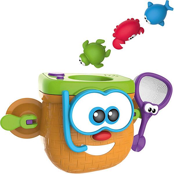 Купить Игрушка для ванны 1Toy Kidz Delight Корзина рыбака, Китай, Унисекс