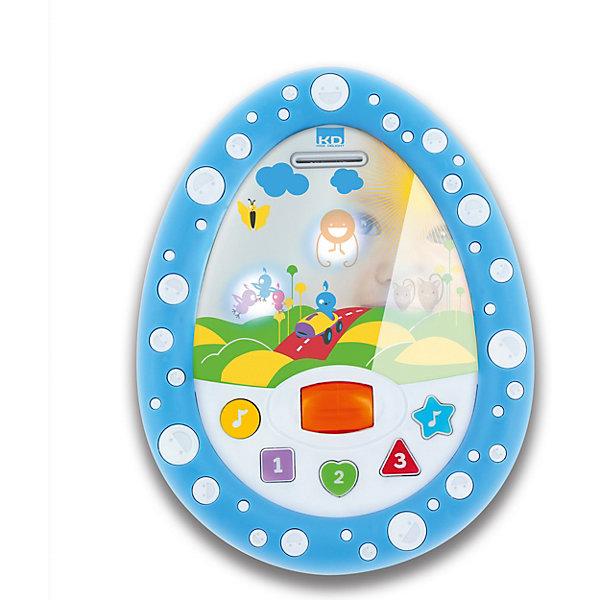Развивающая игрушка 1Toy Kidz Delight Моё первое зеркальцеИнтерактивные игрушки для малышей<br>Характеристики товара:<br><br>• возраст: от 6 месяцев;<br>• размер упаковки: 20х5х20 см.;<br>• наличие батареек: входят в комплект;<br>• тип батареек: 3 x AAA / LR0.3 1.5V (мизинчиковые);<br>• состав: пластик, металл;<br>• упаковка: картонная коробка блистерного типа;<br>• вес в упаковке: 320 гр.;<br>• бренд, страна: 1 TOY, Россия;<br>• страна-производитель: Китай.<br><br>Игрушка обучающая «Моё самое первое зеркальцо» - развивающая игрушка из серии Kidz Delight от бренда 1 TOY привлечет внимание мальчиков и девочек не только своими ярким оформлением, но и звуковыми эффектами. <br><br>Представляет собой интересный детский гаджет для маленьких детей от 6 месяцев. Его можно использовать не только как зеркало, но и как развивающую игрушку, которая научит цветам, формам, элементарному счету от 1 до 3, а также проиграет детские мелодии.<br><br>Если нажимать на кнопки, загорится подсветка с картинками, которые сменяют друг друга. Такая занимательная игрушка надолго привлечет внимание ребенка, и он с пользой проведет время.<br><br>Работает игрушка от батареек, которые входят в комплект. Изготовлена из пластика высокого качества, безвредного для детского здоровья.<br><br>Обучающие игрушки от бренда 1 TOY  нацелены на развитие мелкой моторики, образного мышления, усидчивости, любознательности и других полезных навыков.<br><br>Игрушку обучающую «Моё самое первое зеркальцо»  (свет, звук) от 1 TOY  можно купить в нашем интернет-магазине.<br>Ширина мм: 200; Глубина мм: 50; Высота мм: 200; Вес г: 317; Возраст от месяцев: 5; Возраст до месяцев: 2147483647; Пол: Унисекс; Возраст: Детский; SKU: 7464020;