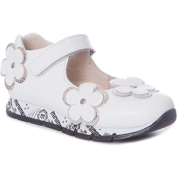Купить Туфли Minimen для девочки, Турция, белый, 26, 30, 29, 28, 27, Женский