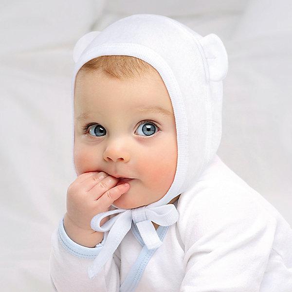 Чепчик: 2 шт. Happy BabyШапочки<br>Характеристики товара:<br><br>• цвет: белый/желтый;<br>• состав ткани: 100% хлопок;<br>• сезон: круглый год;<br>• в комплекте; два чепчика;<br>• комфортная посадка;<br>• удобные завязки;<br>• милые ушки;<br>• коллекция: Newborn Fashion Collection;<br>• страна бренда: Россия;<br>• страна изготовитель: Китай.<br><br>Чепчик с ушками в виде маленького медвежонка сделает образ вашего малыша незабываемым, прекрасным и очень милым. Его лекало разработано технологами специально так, чтобы ушки были закрыты, посадка на головку была идеальной, а завязки мягко фиксировали чепчик на новорожденном. Цвета чепчиков универсальны и подойдут к любым пижамкам или бодикам коллекции Newborn Fashion Collection.<br><br>Чепчик 2 шт. Happy Baby (Хеппи Беби) можно купить в нашем интернет-магазине.<br>Ширина мм: 157; Глубина мм: 13; Высота мм: 119; Вес г: 200; Цвет: желтый/белый; Возраст от месяцев: 3; Возраст до месяцев: 6; Пол: Унисекс; Возраст: Детский; Размер: 68,62,56; SKU: 7468326;