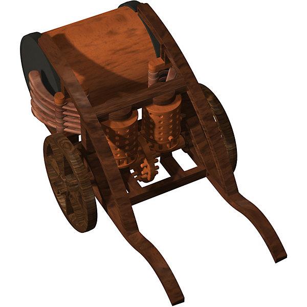 Конструктор Edu-Toys Механический барабанМодели из бумаги<br>Характеристики товара:<br><br>• возраст: от 6 лет;<br>• материал: пластик;<br>• размер упаковки: 22х0,7х22 см;<br>• вес упаковки: 380 гр.;<br>• страна производитель: Гонконг.<br><br>Конструктор Edu-Toys Механический барабан копия изобретения великого инженера средневековья, Леонардо Да Винчи. <br>Механизированные барабаны отбивают сложный ритм во время вращения оси телеги.<br><br>Десять барабанных палочек приводятся в движение с помощью двух боковых цилиндров по принципу музыкальной шкатулки и ударяют по большому барабану.<br><br>Конструктор входит в серию изобретение Леонардо Да Винчи.<br><br>Конструктор Edu-Toys Механический барабан можно купить в нашем интернет-магазине.<br>Ширина мм: 270; Глубина мм: 80; Высота мм: 220; Вес г: 450; Возраст от месяцев: 96; Возраст до месяцев: 2147483647; Пол: Унисекс; Возраст: Детский; SKU: 7476108;