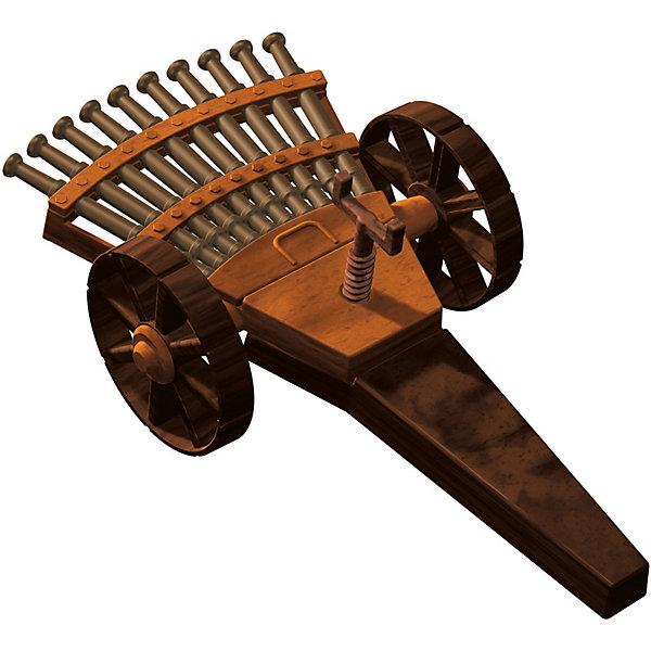 Конструктор Edu-Toys Многоствольная пушкаМодели из бумаги<br>Характеристики товара:<br><br>• возраст: от 6 лет;<br>• материал: пластик;<br>• размер упаковки: 22х0,7х22 см;<br>• вес упаковки: 380 гр.;<br>• страна производитель: Гонконг.<br><br>Конструктор Edu-Toys Многоствольная пушка копия изобретения великого инженера средневековья, Леонардо Да Винчи. <br>Для повышения мощности и скорострельности орудия он установил веером несколько стволов. Таким образом, Леонардо да Винчи проектировал 12-ствольную пушку, которая значительно усилила огневую мощь традиционного орудия.Благодаря тому, что орудие было установлено на колесах, оно легко и быстро транспортировалось на поле битвы.<br><br>Конструктор входит в серию изобретение Леонардо Да Винчи.<br><br>Конструктор Edu-Toys Многоствольная пушка можно купить в нашем интернет-магазине.<br>Ширина мм: 270; Глубина мм: 80; Высота мм: 220; Вес г: 450; Возраст от месяцев: 96; Возраст до месяцев: 2147483647; Пол: Унисекс; Возраст: Детский; SKU: 7476112;