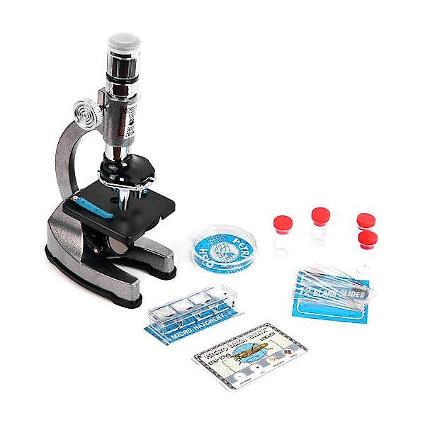 Микроскоп Edu-Toys 100*300*900Микроскопы<br>Характеристики товара:<br><br>• возраст: от 8 лет;<br>• материал: металл, пластик;<br>• в комплекте: микроскоп, биологический образец кузнечика, стекло с образцами, микроинкубатор, чаша Петри с лупой, контейнеры для собственных образцов. пустые стекла для исследований, пустые слайды, цветные и простые фильтры, защитные пленки, пипетка, скальпель, игла, палочка, шпатель реактивы, батарейка 3V типа CR2032; <br>• размер упаковки: 35х26х0,8 см;<br>• вес упаковки: 900 гр..;<br>• страна производитель: Гонконг.<br><br>Микроскоп  Edu-Toys 100*300*900 с увеличением от 100 до 900 крат. Богатая комплектация этого микроскопа позволит ребенку сразу же приступить к изучению микромира.<br><br>Микроскоп  Edu-Toys 100*300*900 – это хороший подарок ребенку. Он поможет ему понять, из чего состоят окружающие предметы, разовьет усидчивость и интерес к науке. Микроскоп снабжен прямоугольным предметным столиком с двумя держателями для препаратов. С помощью ручки фокусировки вы можете настроить максимально комфортную резкость изображения. А если внешнего освещения недостаточно, можно использовать встроенный в микроскоп осветитель.<br><br>В комплекте с микроскопом ребенок найдет набор для самостоятельного изучения микромира. Это готовые микропрепараты и 6 заготовок с инструментами, необходимыми для самостоятельного приготовления микропрепаратов.<br><br>Микроскоп  Edu-Toys 100*300*900 можно купить в нашем интернет-магазине.<br>Ширина мм: 340; Глубина мм: 80; Высота мм: 260; Вес г: 1020; Возраст от месяцев: 96; Возраст до месяцев: 2147483647; Пол: Унисекс; Возраст: Детский; SKU: 7476120;