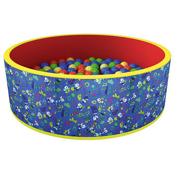 Сухой бассейн Romana Веселая поляна + 100 шариков (красный)Бассейны<br>Характеристики товара:<br><br>• возраст: от 3 лет;<br>• материал: пластик, поролон;<br>• в комплекте: бассейн, 100 шариков;<br>• размер бассейна: 100х100х33 см;<br>• толщина стенки: 3 см;<br>• размер упаковки: 70х35х36 см;<br>• вес упаковки: 3,65 кг;<br>• страна производитель: Россия.<br><br>Сухой бассейн с шариками «Веселая поляна» Romana — бассейн для увлекательных игр. Бассейн подойдет как для использования дома, так и на свежем воздухе. Благодаря небольшим габаритам он не занимает много места дома. Сам бассейн выполнен из материала, который легко чистится. Шарики выполнены из качественного безопасного пластика.<br><br>Сухой бассейн с шариками «Веселая поляна» Romana можно приобрести в нашем интернет-магазине.<br>Ширина мм: 700; Глубина мм: 350; Высота мм: 360; Вес г: 4000; Возраст от месяцев: 36; Возраст до месяцев: 2147483647; Пол: Унисекс; Возраст: Детский; SKU: 7479604;