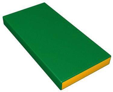 Гимнастический мат Romana  Kid  мягкий, желто-зеленый, артикул:7479608 - Спортивные коврики