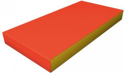 Гимнастический мат Romana  Kid  мягкий, желто-оранжевый, артикул:7479624 - Спортивные коврики
